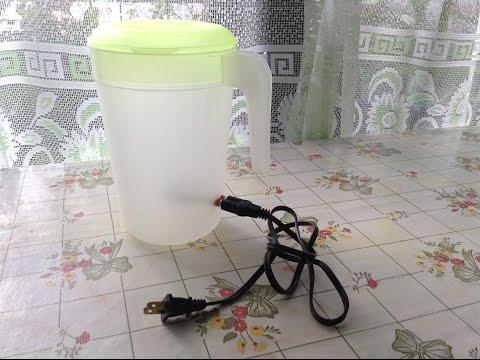 Como hacer un calentador de agua electrico. MUY FACIL Y BARATO