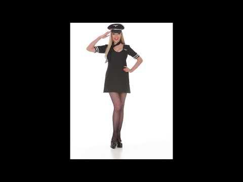 Disfraz de Piloto de Mujer.