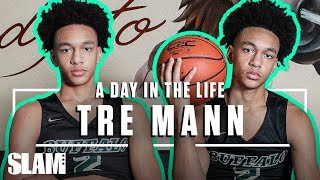 Tre Mann is FLORIDA HOOP ROYALTY -- Dwyane Wade APPROVES 🐊 | SLAM Day in the Life