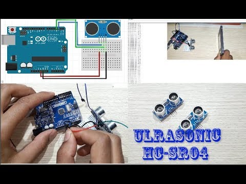 Banggood How to use Ultrasonic distance  Sensor HC-SR04 and Arduino + program