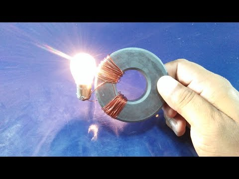 Free Energy Magnet Power Electricity Generator With Copper Wire New Technology
