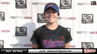 2023 Abi Pikas 4.20 GPA - Athletic Slapper and Outfielder Softball Skills Video - AASA - Pikas