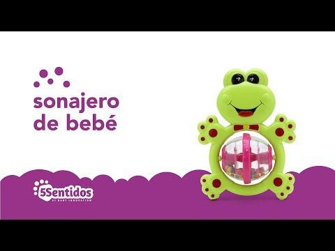 Sonajero sapo Baby Innovation Verde video
