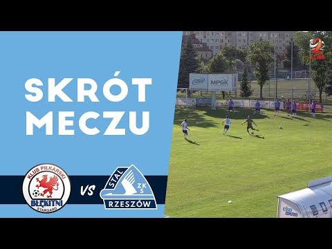 WIDEO: Błękitni Stargard - Stal Rzeszów 0-1 [SKRÓT MECZU, BRAMKI]