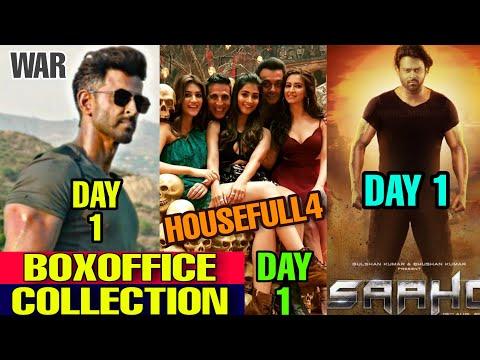 Boxoffice Collection War vs Saaho vs Housefull 4, Hrithik Roshan Tiger shroff, Akshay Kumar, Prabhas