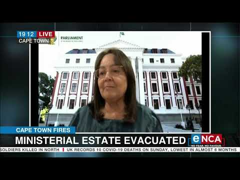 Cape Town Fires Ministerial estate evacuated