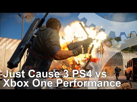 Just Cause 3 : vidéo comparative Xbox One vs PS4