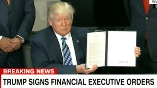 "President Trump Signs ""Tax Simplification"" Executive Order"