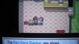 Pokemon Platinum Version (Post Story) - Episode 21: Getting The Poketch Apps