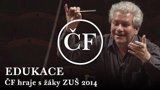 Společný orchestr hráčů České filharmonie a žáků ZUŠ 2014