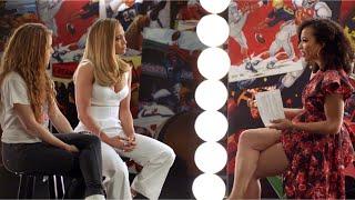 Super Bowl LIV Half Time Show Entrevista con Jennifer Lopez y Shakira (Spanish)