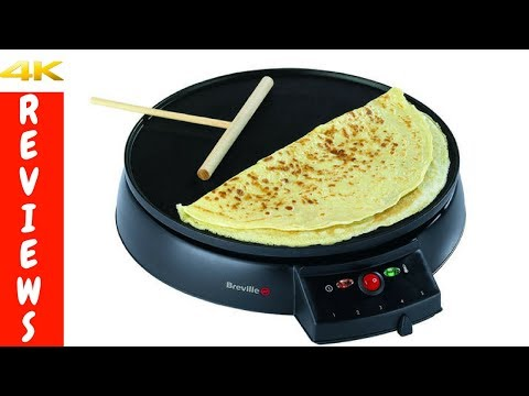 , Chefman 12″ Electric Crepe Maker & Griddle, Precise Temperature Control for Perfect Crepes, Blintzes, Pancakes, Eggs, Bacon and more, Non Stick, Includes Batter Spreader & Spatula