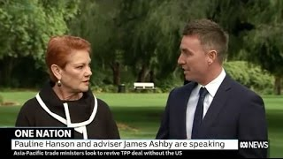 Pauline Hanson and James Ashby respond to secret electoral scam recording