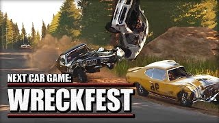 Next Car Game: Wreckfest Fails and Crashes Compilation