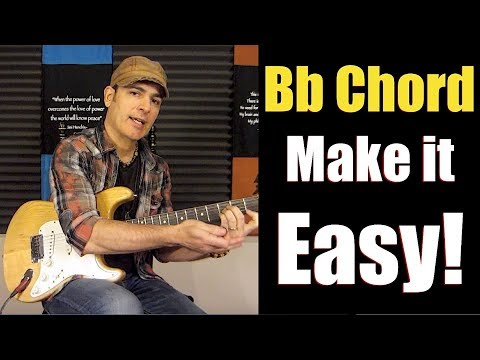 Beginner Guitar Lessons - How to Play the Bb Chord