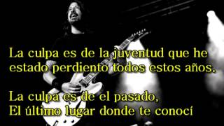 Foo Fighters - Lonely As You (Subtitulado)