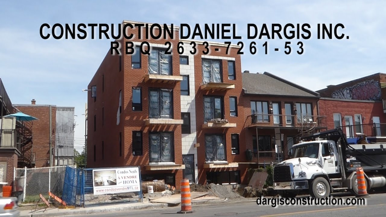 Construction management of condos & training internships