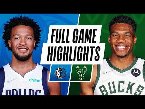 Milwaukee Bucks vs Dallas Mavericks</a> 2021-10-16