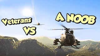 Oops... they set me loose in an APACHE HELICOPTER