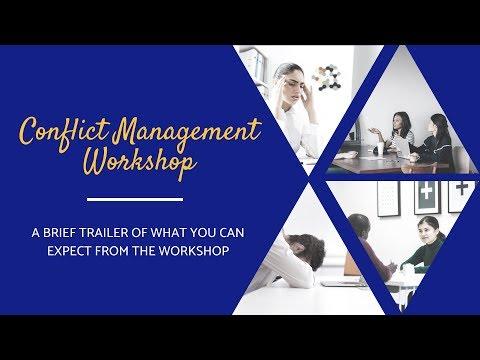 Conflict Management Workshop - YouTube