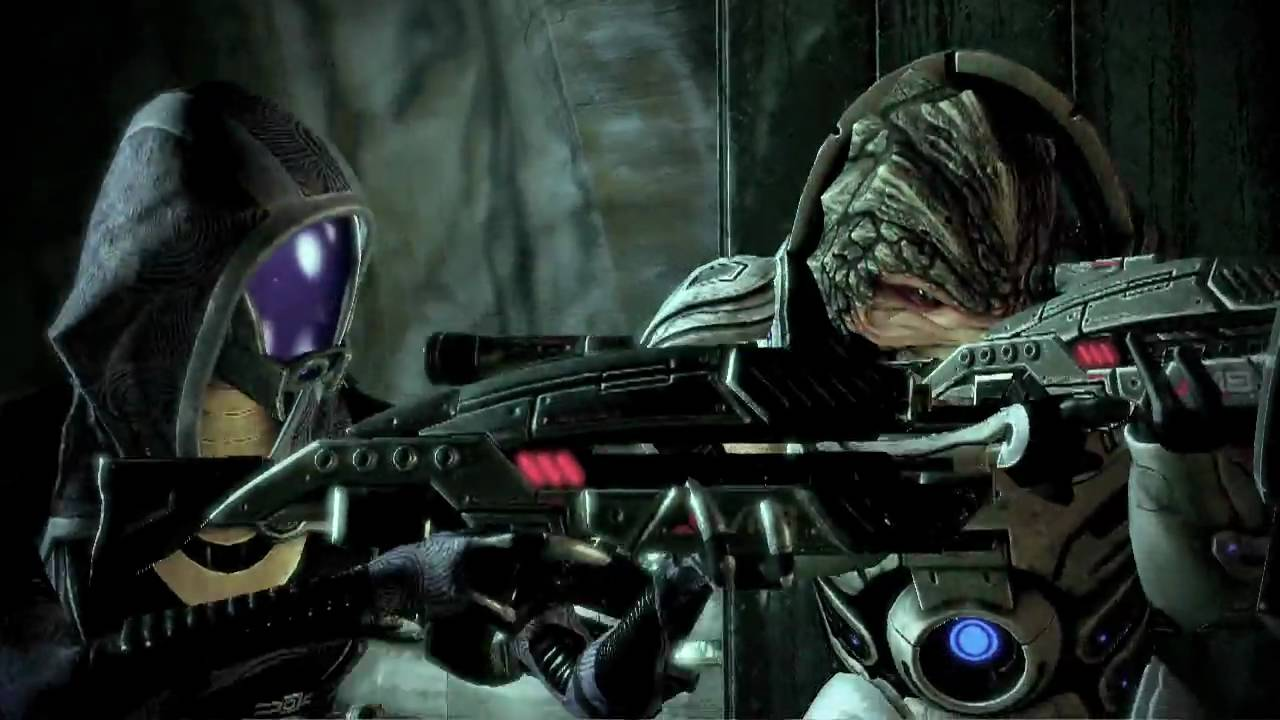 Mass Effect 2's Launch Trailer Strikes Back