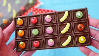 板チョコをダイソー商品でデコ Deco Chocolate Bars with Daiso Products