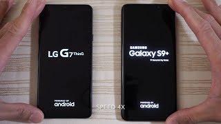 LG G7 ThinQ vs Samsung Galaxy S9 Plus - Speed Test!