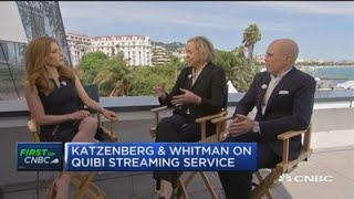 Watch CNBC's full interview with Quibi CEO Meg Whitman and Quibi founder Jeff Katzenberg
