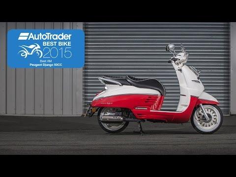 2015 Best AM Licence Bike – Peugeot Django 50cc – Best Bike Awards