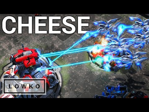 StarCraft 2: Silver League Cheese!