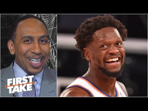 Stephen A. can't contain his excitement about the resurgent Knicks | First Take