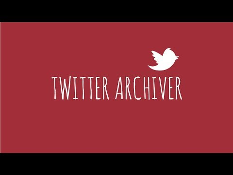 Twitter Archiver Saves Tweets By Keyword Or Hashtag In Google Drive