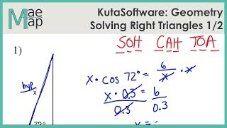 KutaSoftware: Geometry- Solving Right Triangles Part 1