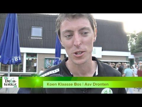 VIDEO | Afscheid 'met een gouden randje' van Koen Klaasse Bos bij Asv Dronten
