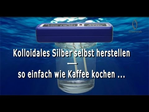 Kolloidales Silber mit dem Ionic-Pulser herstellen