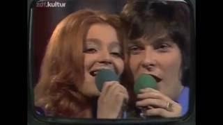 Eurovision 1972 - Deutsche VE - Cindy + Bert   Geh die Straße