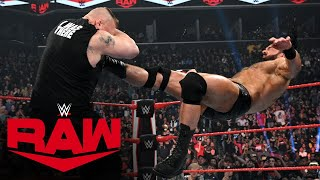 Drew McIntyre Claymore Kicks Brock Lesnar into tomorrow: Raw, March 2, 2020