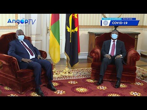 Angola e RCA abordam reforço da cooperação