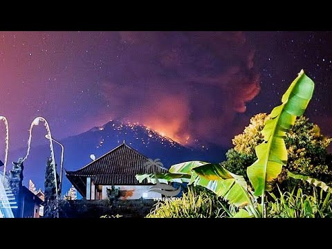 العرب اليوم - شاهد: إلغاء رحلات طيران إثر انفجار بركان بالي