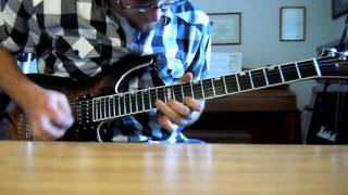 Armageddon Chris Amott Final Destination guitar solo cover