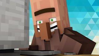 Когда Житель Впервые Посмотрел П*рно - [Minecraft Анимация]