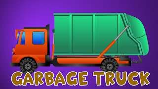 Garbage truck | Videos For Kids | Vehicles For Children | Car Cartoons | Educational Cartoon