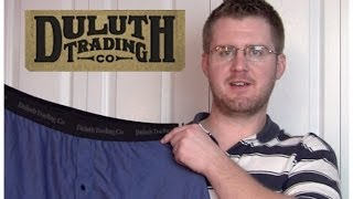 Duluth Trading Buck Naked Boxers Review
