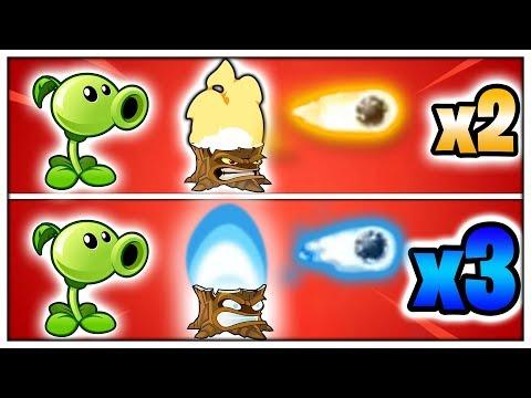 JAK DĚLAT TROJNÁSOBNÝ DAMAGE?! (Plants vs. Zombies 2) #14