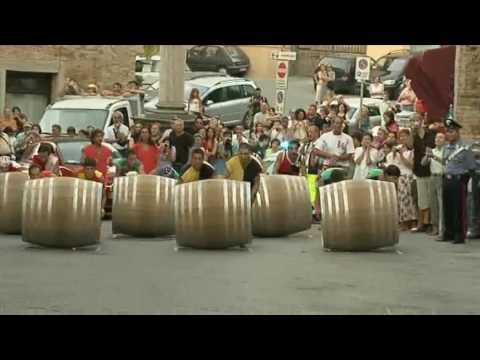 Bravio di Montepulciano - La Corsa