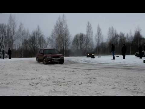 Автокросс в Волково 13.01.13
