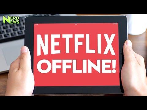 NETFLIX OFFLINE - How To Download Netflix Content for Offline Viewing