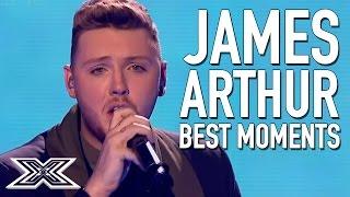 BEST of X Factor Winner James Arthur | Including 'Impossible' Live Final performance