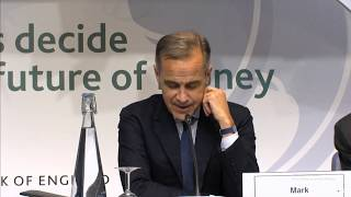 Bank of England Future Forum Culmination Event - The Future of Money