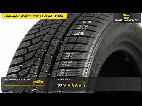 Youtube Hankook Winter i*cept evo2 W320 205/45 R17 88 V XL Zimní